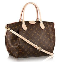 Louis Vuitton Turenne MM Monogram M48814 Handbag Should Bag Tote