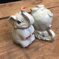 Elephant Salt and Pepper Shaker