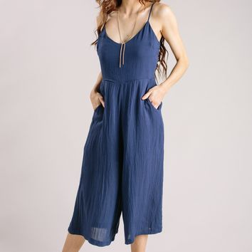 Tasha Navy Jumpsuit