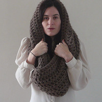 Infinity Cowl Cowl Scarf Cowl Neckwarmer  -  The Wind does Blow