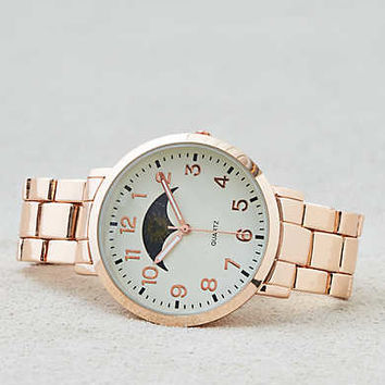 AEO Rose Gold Sun & Moon Watch, Rose Gold