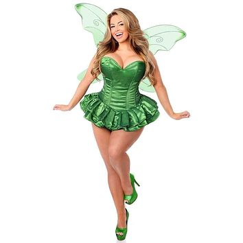 Daisy Top Drawer 2 PC Glitter Fairy Corset Dress Costume