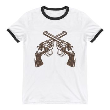 LV violenceRinger T-Shirt