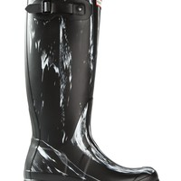 Hunter 'Wellington' paint splatter rain boots