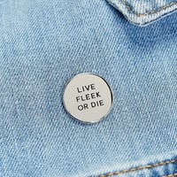Weird Empire Live Fleek or Die Pin - Urban Outfitters