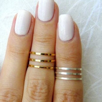 3 Row Ring Set