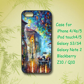 Oil Painting - iPhone 4 Case, iPhone 5 Case, ipod 4 case, Samsung Galaxy S4, Samsung Galaxy S3, Samsung note 2, blackberry z10, Q10