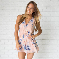 Glowing Floral Playsuit Romper