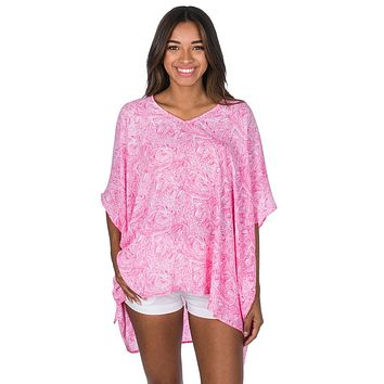 Isla Tunic in Ruffle Some Feathers by Lauren James