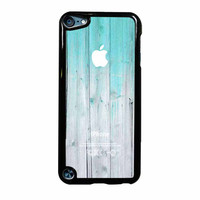 Wood Mint Apple iPod Touch 5th Generation Case