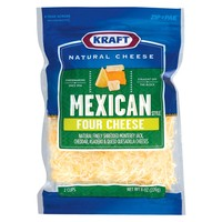 Kraft® Natural Shredded Mexican Style Four Cheese - 8oz