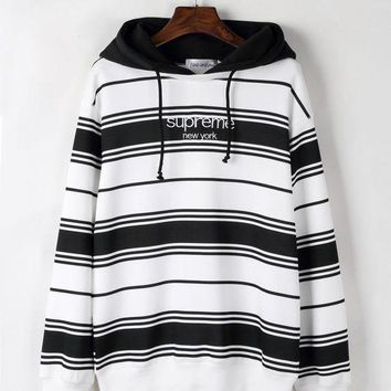 PEAPJ1A Stripes Pullover Hoodies Star Winter Long Sleeve Hats [11335926919] F