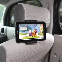 Ppyple Universal Car Headrest Mount for iPad, iPad Mini, Galaxy Tab, Kindle Fire (Screen Size 5 ~ 11 inch)