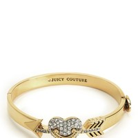 Pave Heart & Arrow Bangle by Juicy Couture