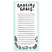 Grocery Market List Notepad