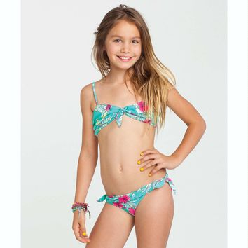Billabong Girls' Miss Hula Bandeau Bikini from Billabong
