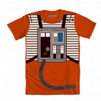 Star Wars Luke Flight Suit Orange Costume T-shirt
