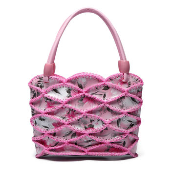 Chinese style 2017 new hand-woven mini women handbags ladies manual crochet weave small hand bag woman children students clutch