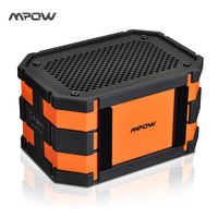 Mpow Armor Bluetooth Speaker Passive Loudspeakers Portable Waterproof Outdoor Shower MP3 Speakers Power Bank for iPhone 6 Xiaomi