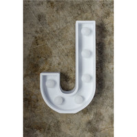 J Initial Marquee Light