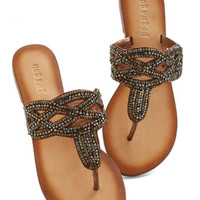 ModCloth Boho Need for Bead Sandal
