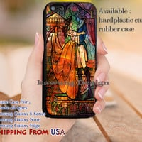 Nebula Stained Glass Beauty and The Beast iPhone 6s 6 6s+ 5c 5s Cases Samsung Galaxy s5 s6 Edge+ NOTE 5 4 3 #cartoon #disney #animated #BeautyAndTheBeast dl11