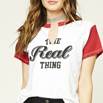 The Real Thing Graphic Tee