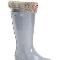 Girl's Hunter 'Original Glitter' Rain Boot