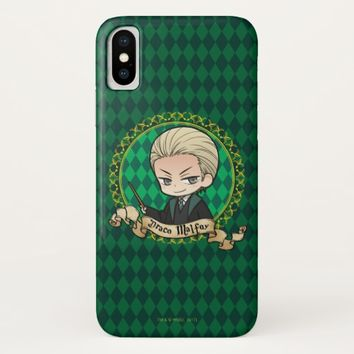 Anime Draco Malfoy iPhone X Case