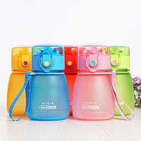 Baby Bottles Eco-friendly PC Kid Straw Sports Bottle