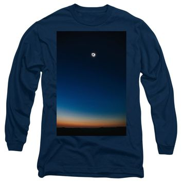 Solar Eclipse, Syzygy, The Sun, The Moon And Earth - Long Sleeve T-Shirt