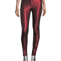 Isabel Marant Gevada Metallic Legging Pants