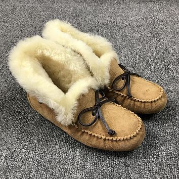 Best Deal Online UGG Slippers ALENA Women CHESTNUT Shoes 1004806