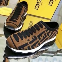 FENDI Women Fashion Casual Sneakers Sport Shoes