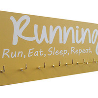 Running: running medals holder