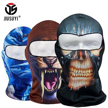 Quick Drying Animal Thin Realtree Hood Camouflage Cap Hats Balaclava Bicycle Tactical Snowboard UV Protection Full Face Mask