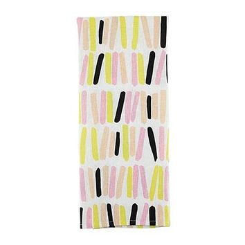 Sprinkles Tea Towel in Cheerful Cake Colors