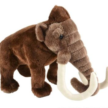 "10"" Woolly Mammoth Stuffed Animal Plush Floppy Dino Species Collection"