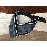 Fendi Crossing hairband around the edge Headband