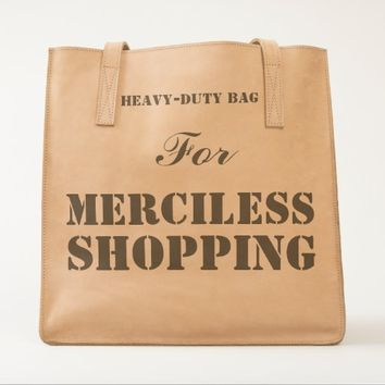 Merciless Shopping UBUNTU Collection Tote