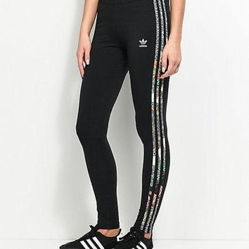 LMFOK3 adidas Originals X Farm Jardim 3 Stripe Leggings
