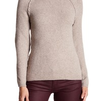 Sweet Romeo | Moto Exposed Sleeve Knit Sweater | Nordstrom Rack