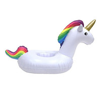 Inflatable Unicorn Drink Cup Float Holder
