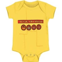 Beatles Boys' Yellow Submarine Bodysuit Yellow Rockabilia