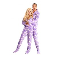 Purple Star Adult Onesuit for Adults