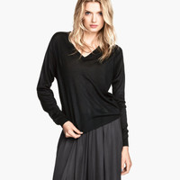 H&M Silk-blend Sweater $34.95