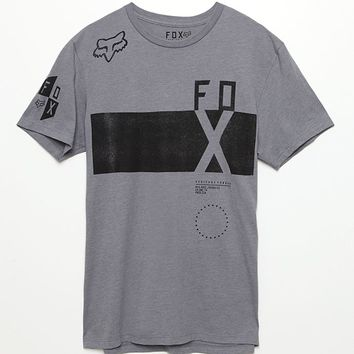 Fox Reverse Logic T-Shirt - Mens Tee - Black