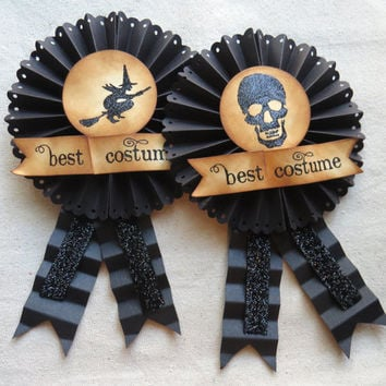 Halloween BEST COSTUME ribbon award