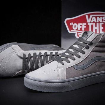 CREYONS VANS SK8-Hi Zipper Old Skool Ankle Boots Flat Sneakers Sport Shoes