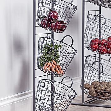 NEW Wire Tier Baskets